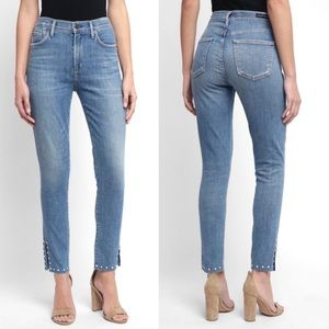 Citizens Of Humanity Pearl Detailed Rocket Jeans